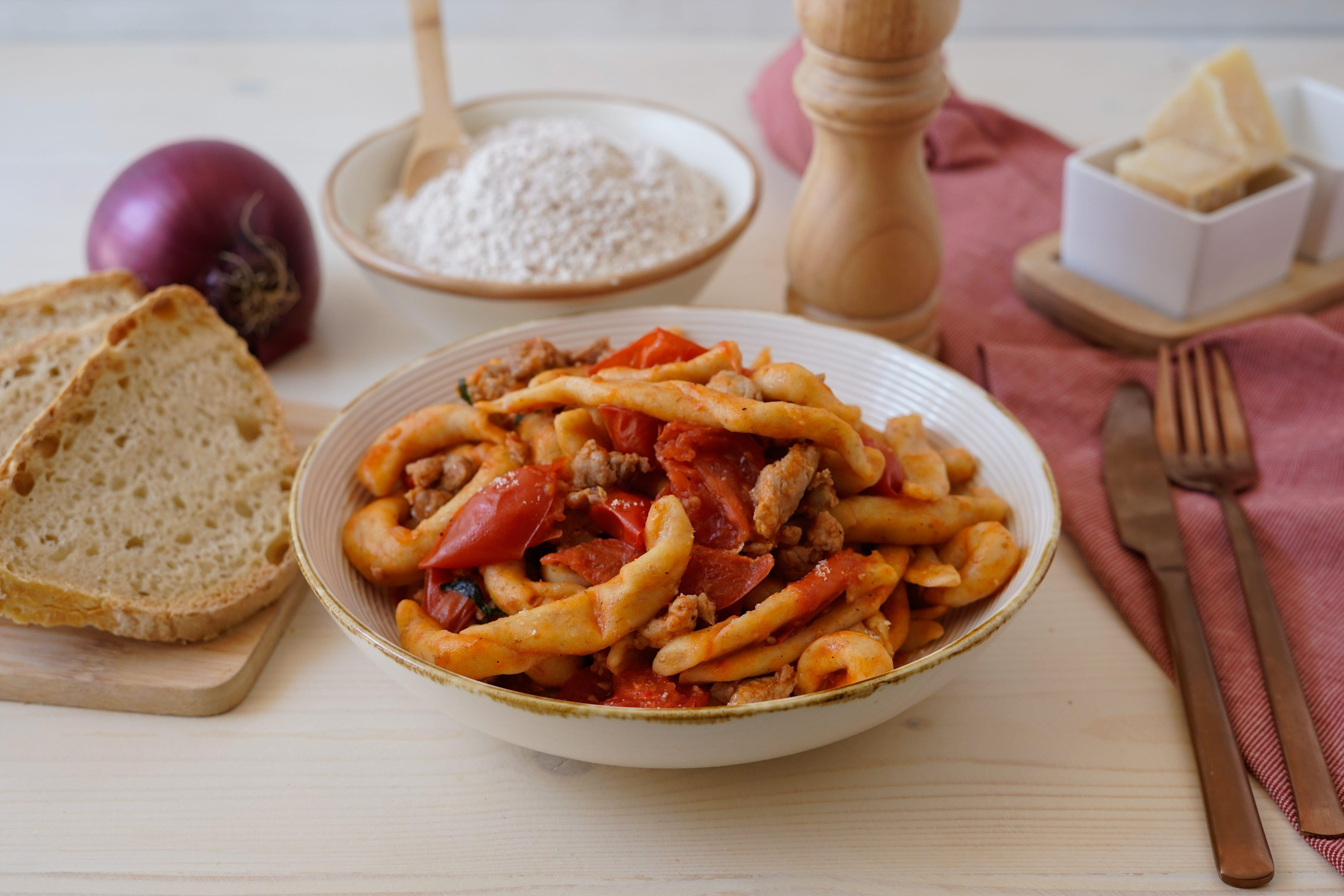 Fusilli alla cilentana al sugo: la ricetta del piatto tipico della tradizione