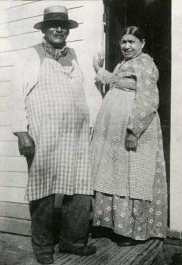 George Crum e sua sorella | Original publication: Georgs S. Bolster Collection