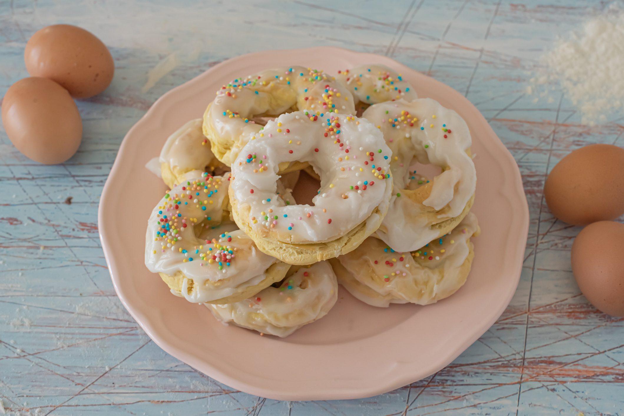 Ginetti: la ricetta delle ciambelline dolci calabresi tipiche della Pasqua