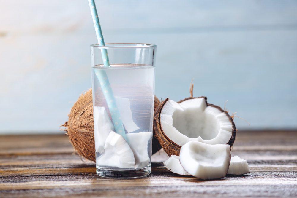 Come usare la noce di cocco: acqua di cocco
