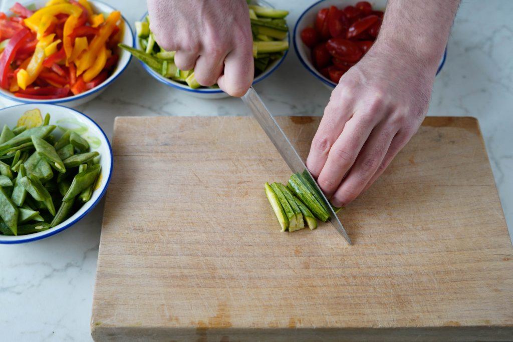 agliare verdure
