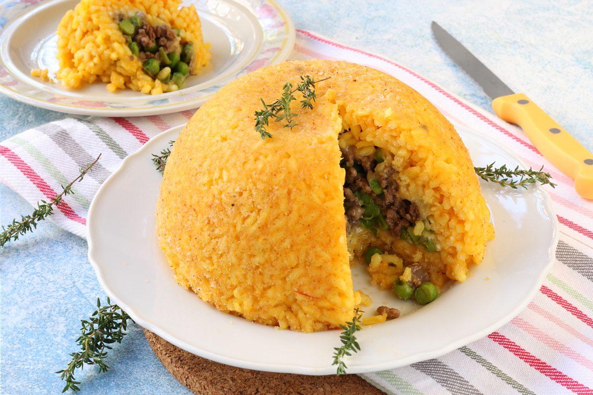 Bomba di riso: la ricetta della cupola golosa e sorprendente
