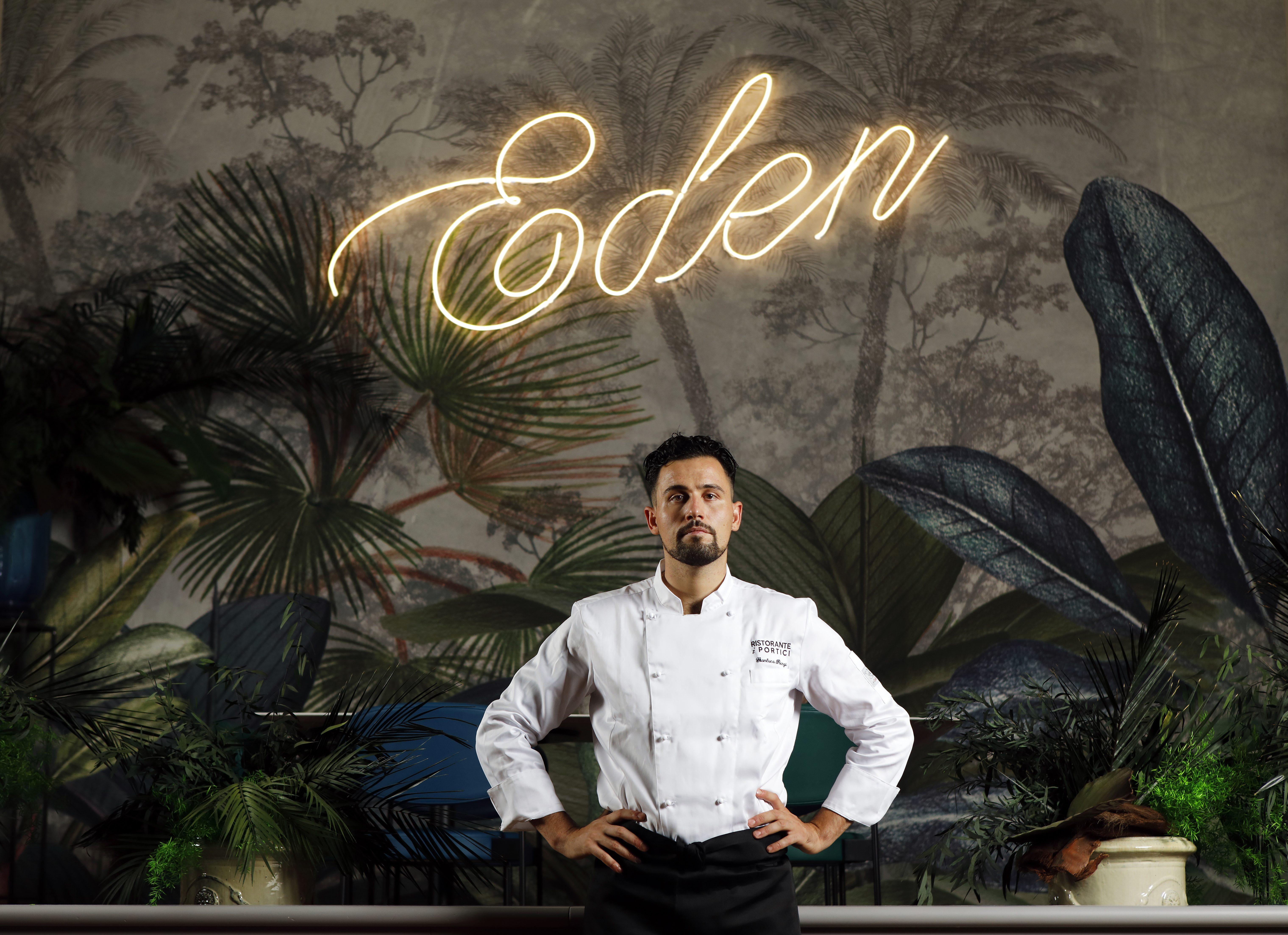 Gianluca Renzi, lo chef stellato che esalta l'anima dei Portici di Bologna