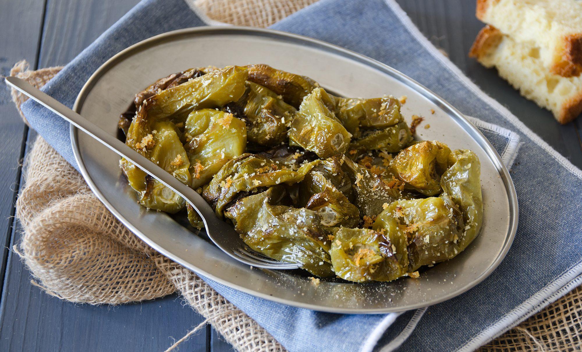 Friggitelli al forno: la ricetta del contorno veloce e croccante