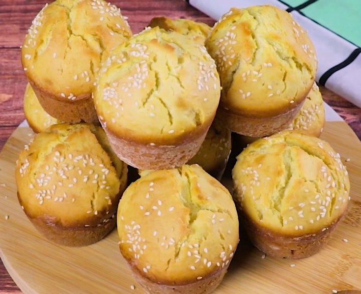 Muffin di pane: la ricetta dei lievitati morbidi e fragranti