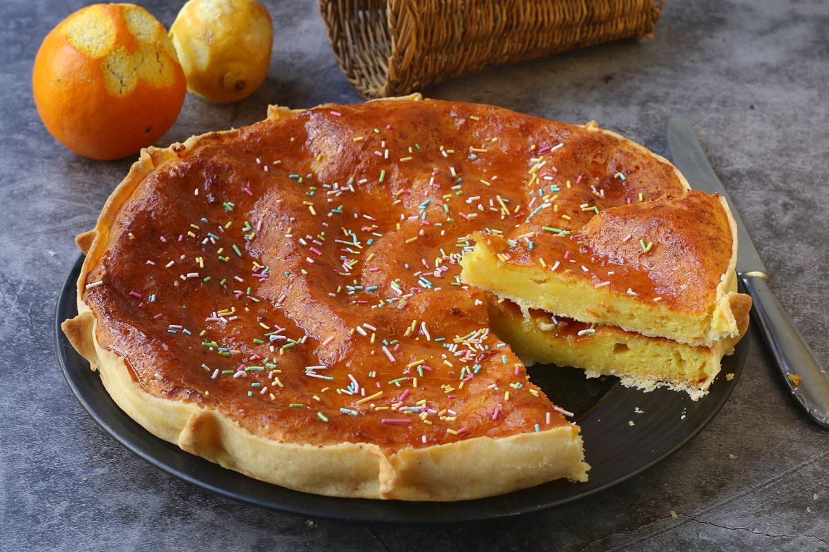 Torta pardula: la ricetta del dolce sardo in versione maxi