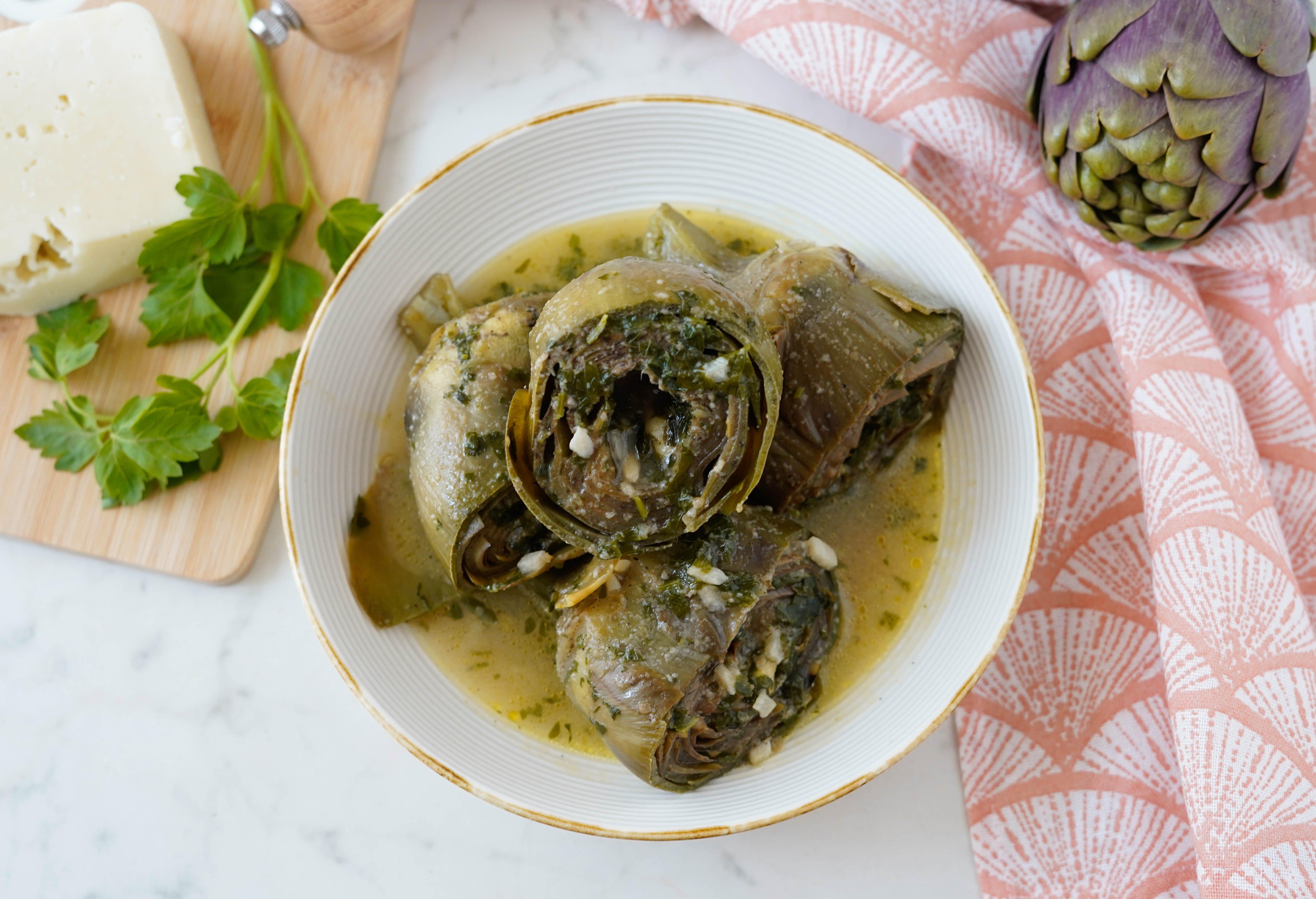 Carciofi alla villanella: la ricetta del piatto tipico siciliano