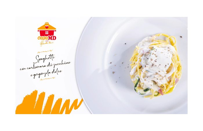 Carbonara di zucchine e gorgonzola: la cremosa rivoluzione in cucina