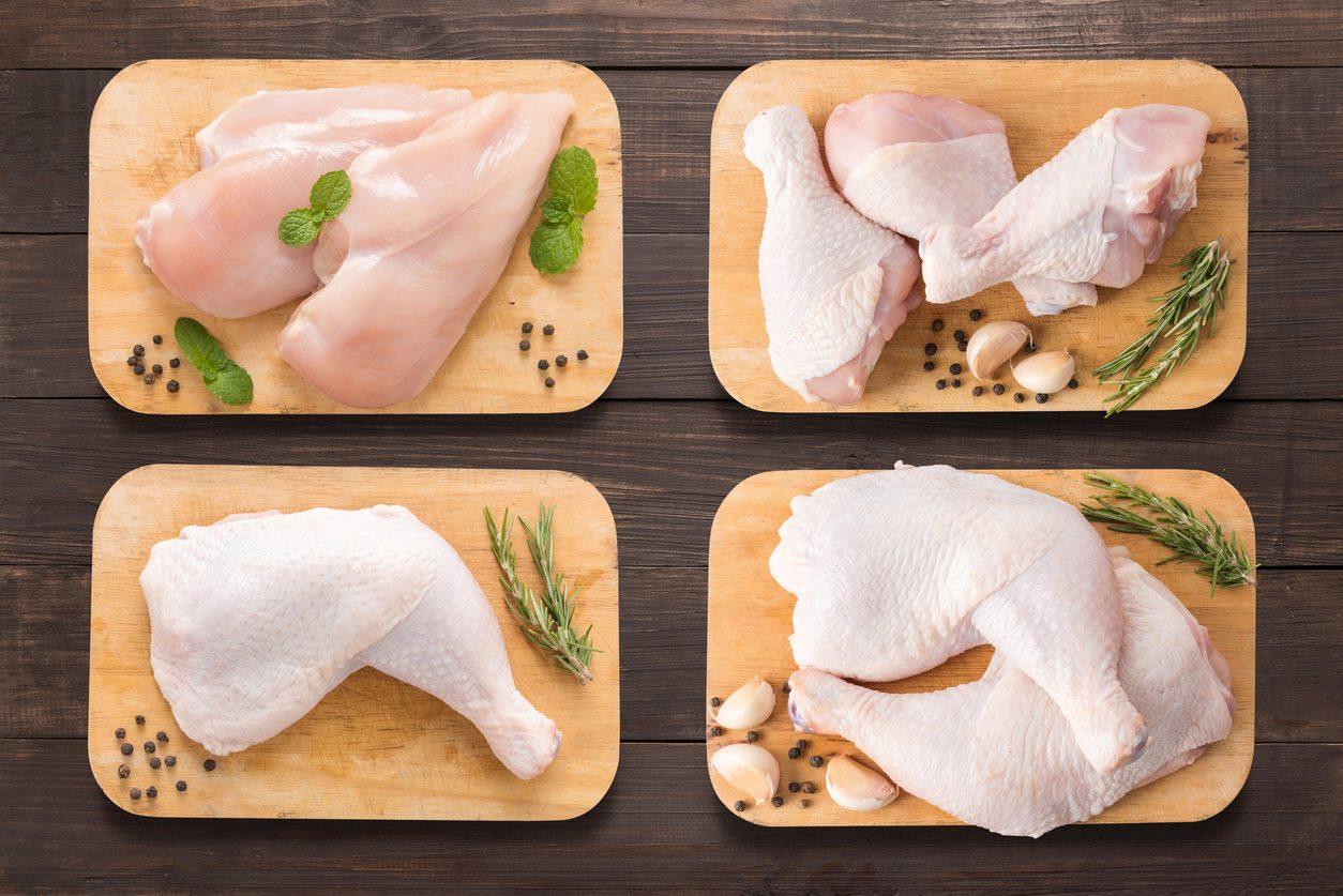Cosce, sovracosce e fusi di pollo: quali sono le differenze e come valorizzarle al meglio