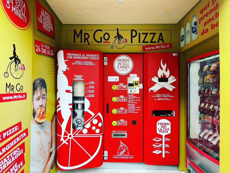 A Roma è arrivato il primo distributore automatico di pizza: tutto pronto in 3 minuti
