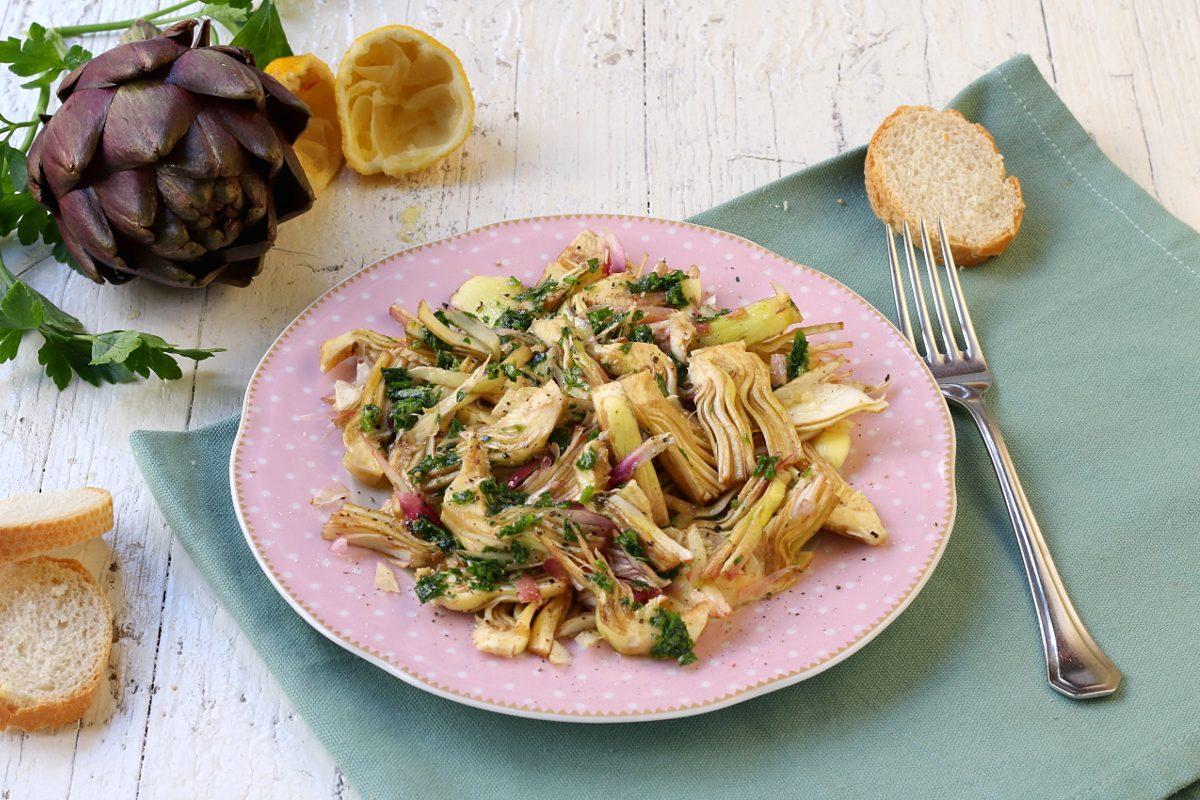 Carpaccio di carciofi: la ricetta del piatto fresco e croccante