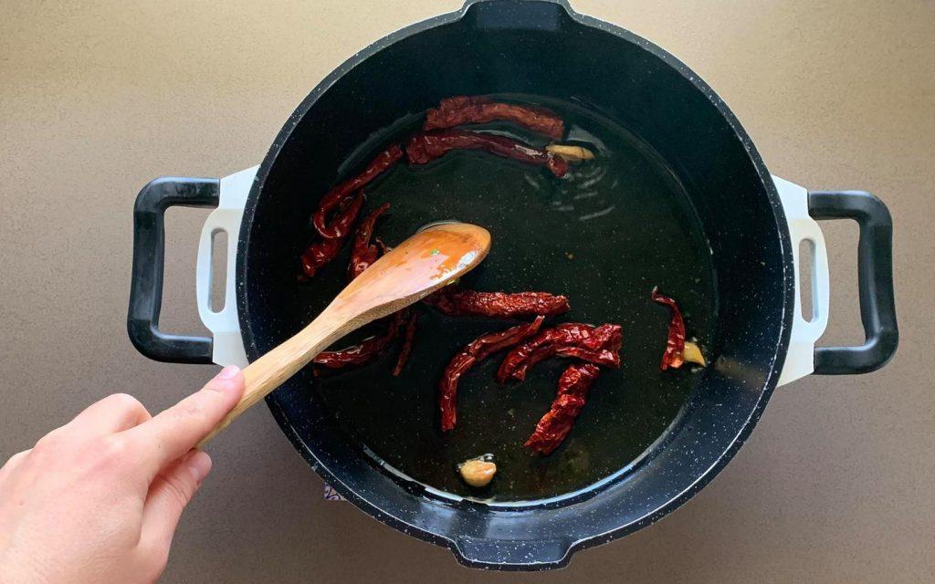 friggere peperoni