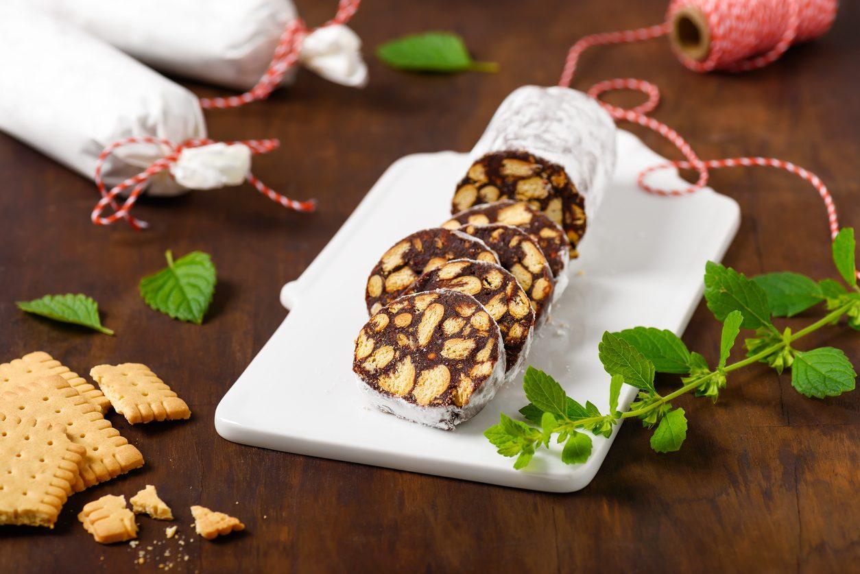 Salame al cioccolato light: la ricetta del dolce delizioso senza uova, burro e zucchero