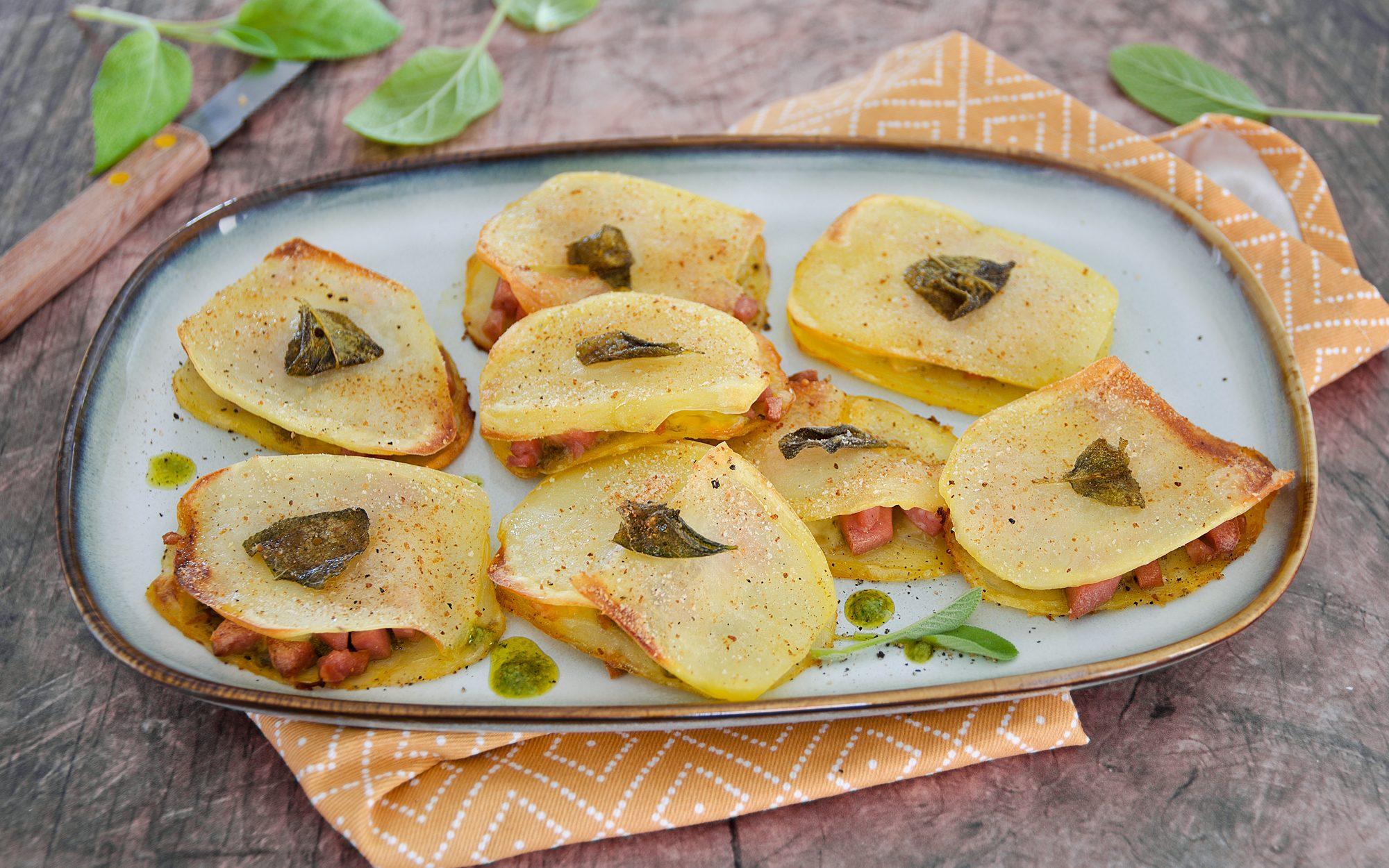 Saltimbocca di patate: la ricetta del piatto sfizioso e irresistibile