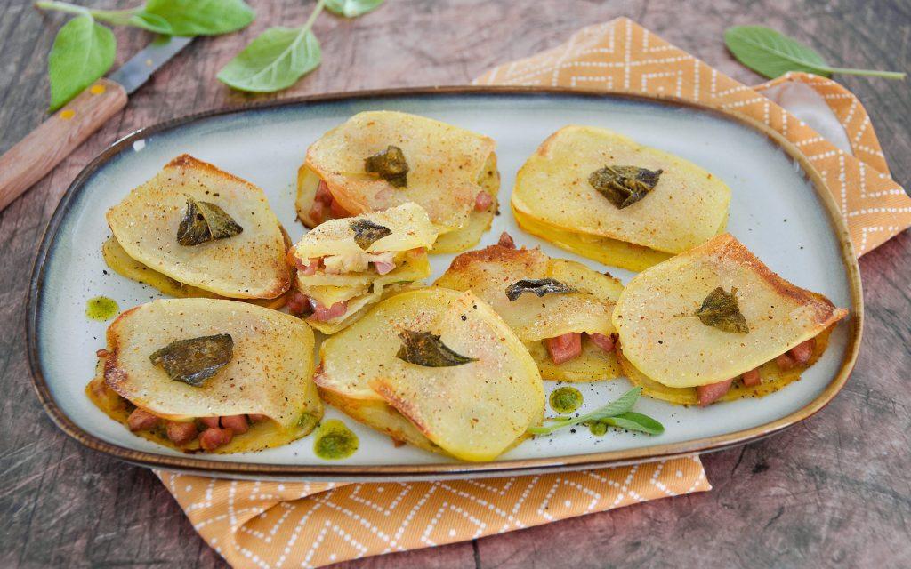 Saltimbocca di patate