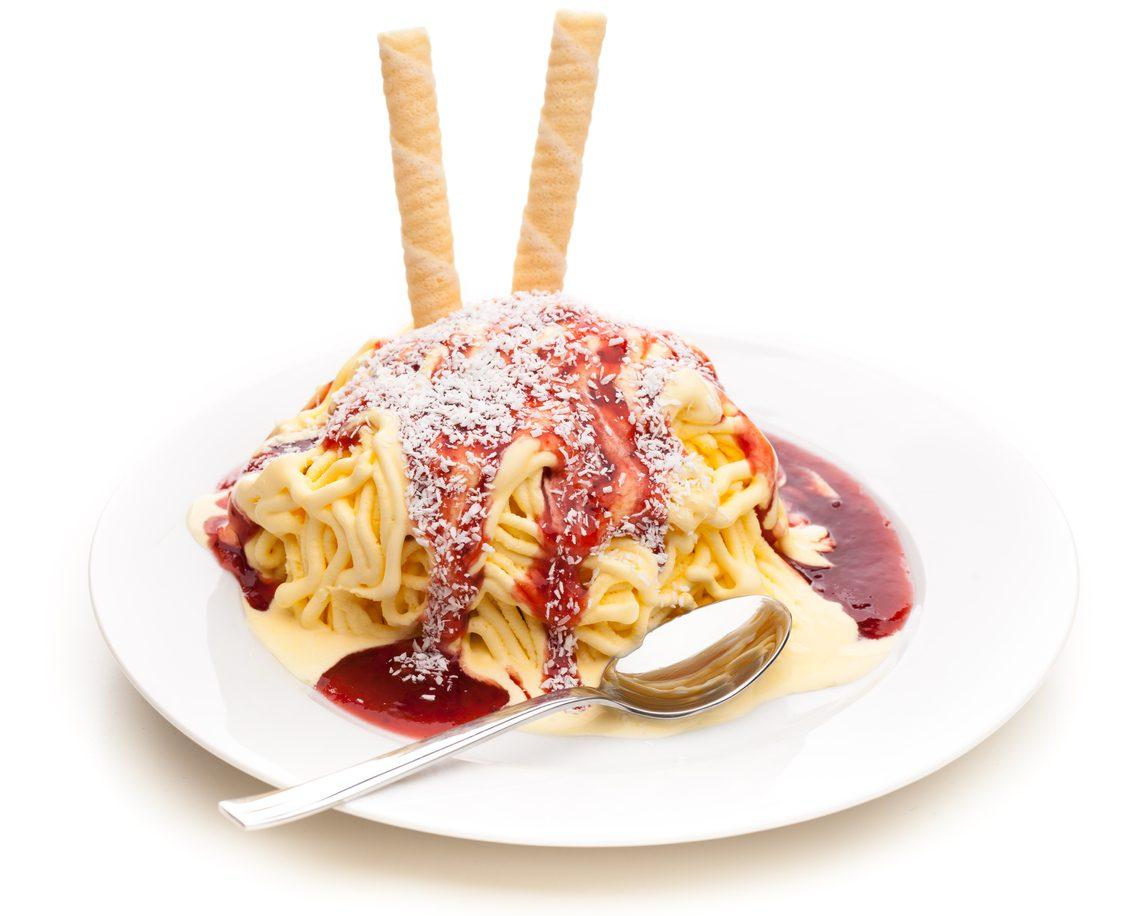 Spaghetti di gelato: la ricetta del dessert semplice e originale