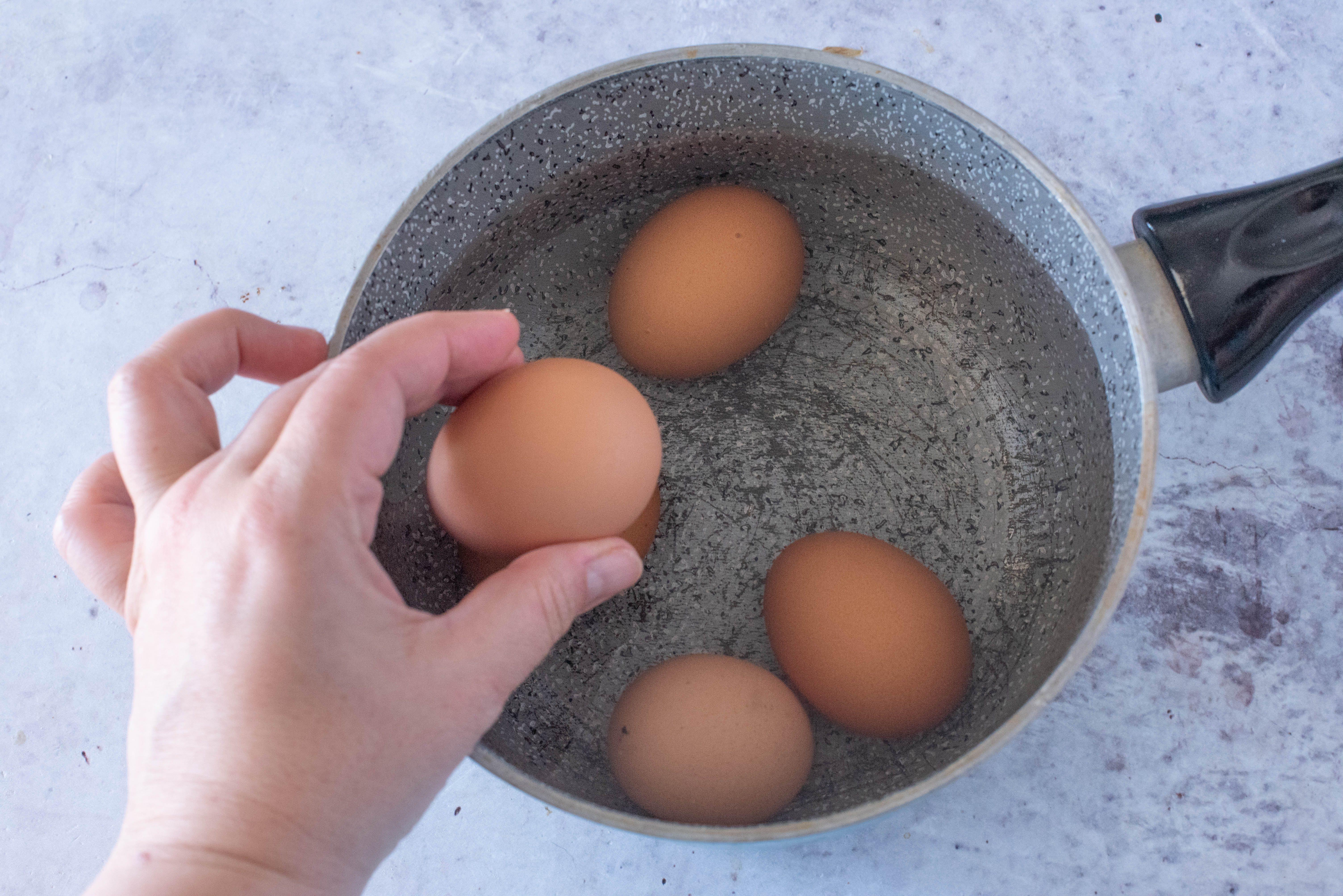 uova e asparagi alla veneta