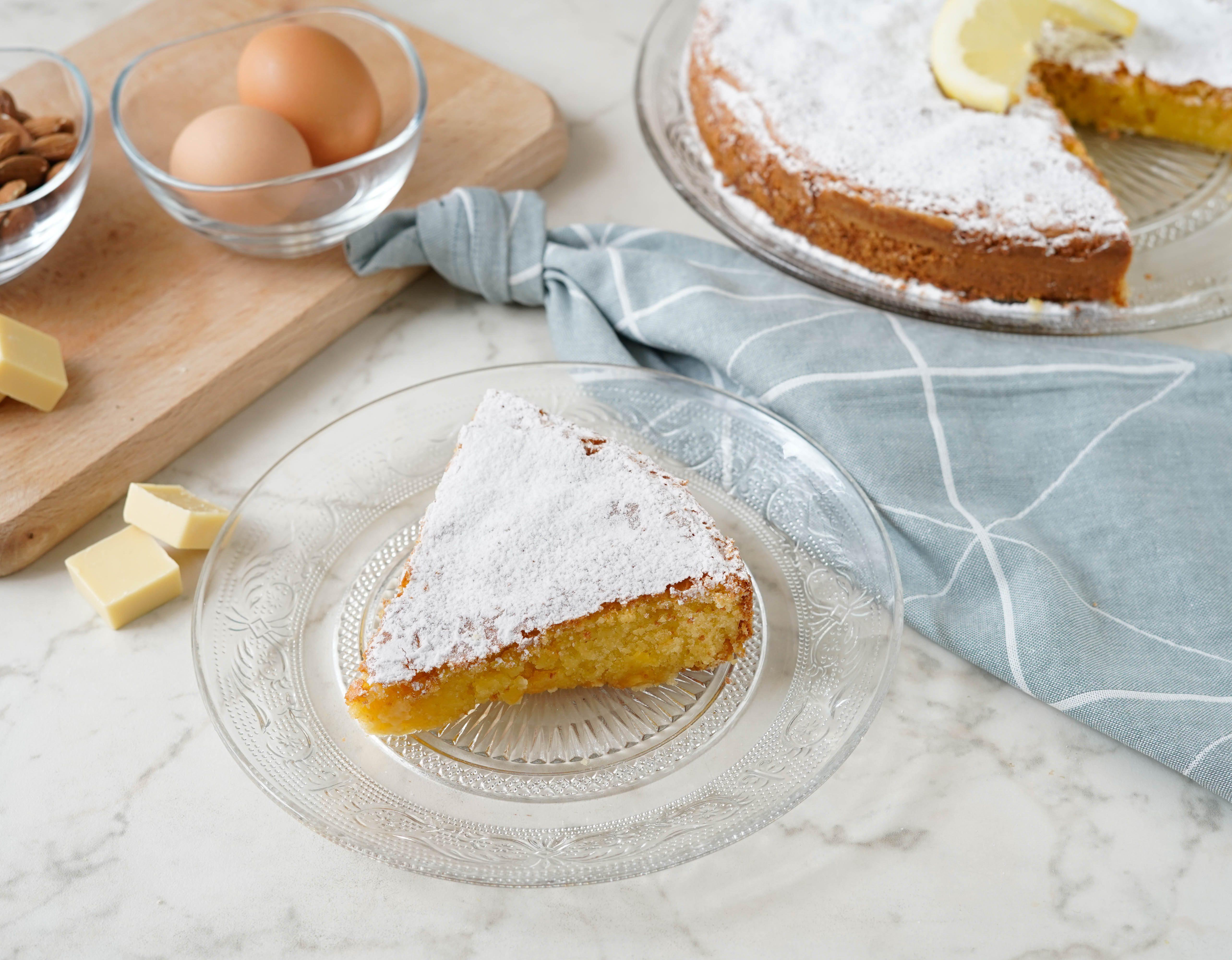 Caprese al limone: la ricetta della variante fragrante e delicata