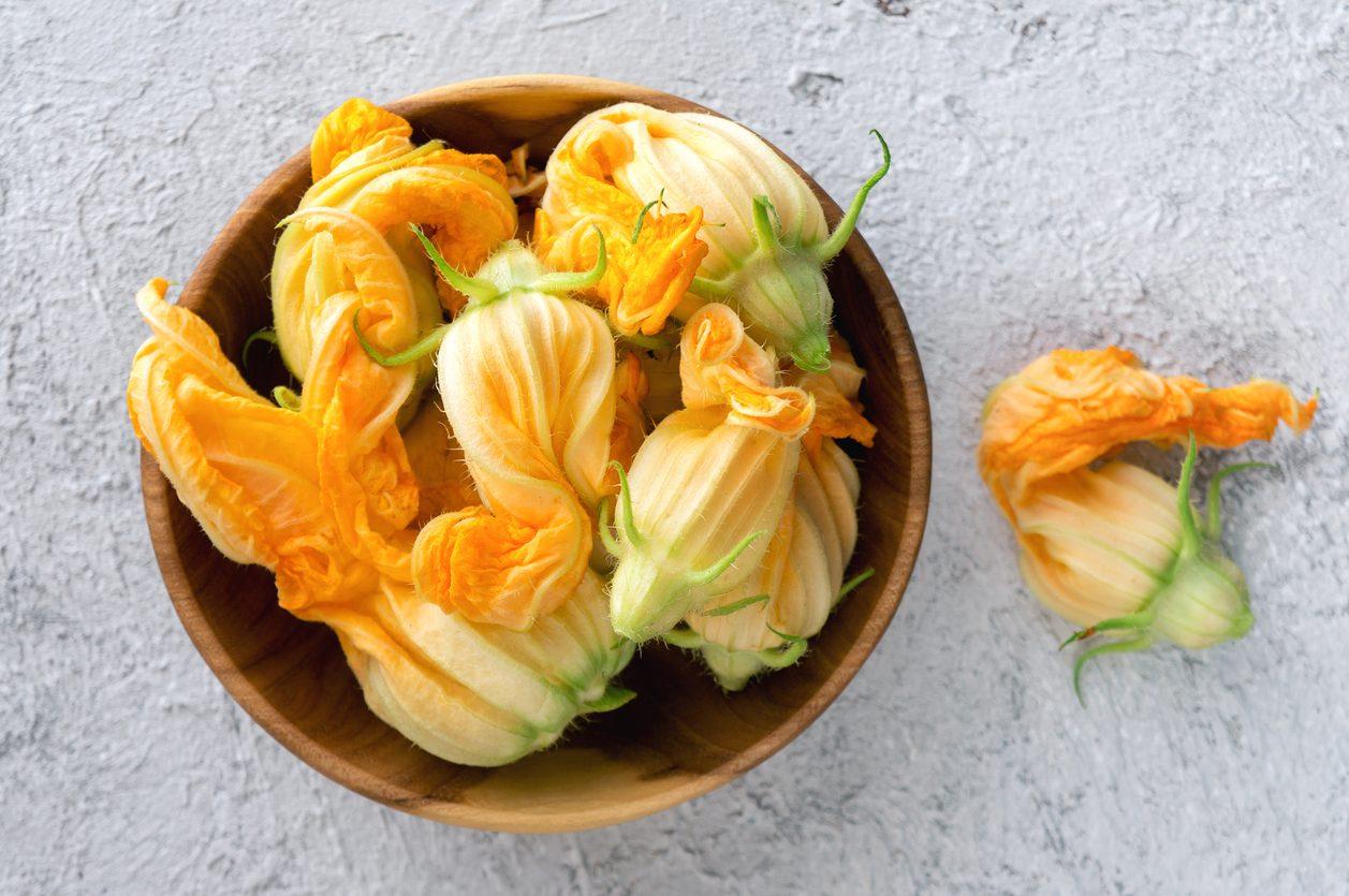 Come conservare i fiori di zucca per farli durare a lungo
