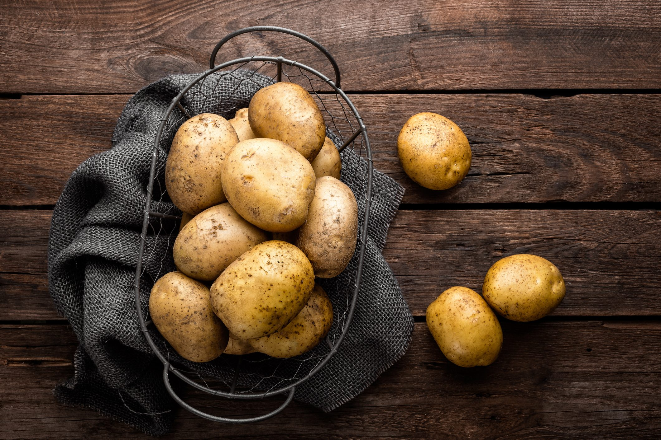 """Perché mangiamo le patate? Perché agli esseri umani piace rubare le cose """"preziose"""""""