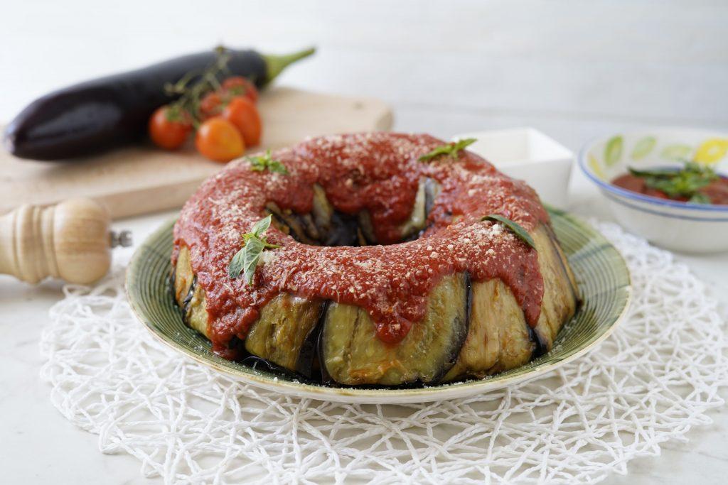 timballo di melanzane alla siciliana