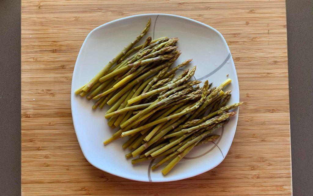 asciugare asparagi
