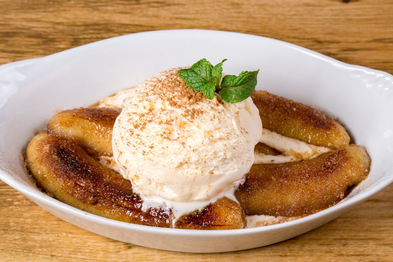 Banana flambé: la ricetta del dessert semplice e di grande effetto