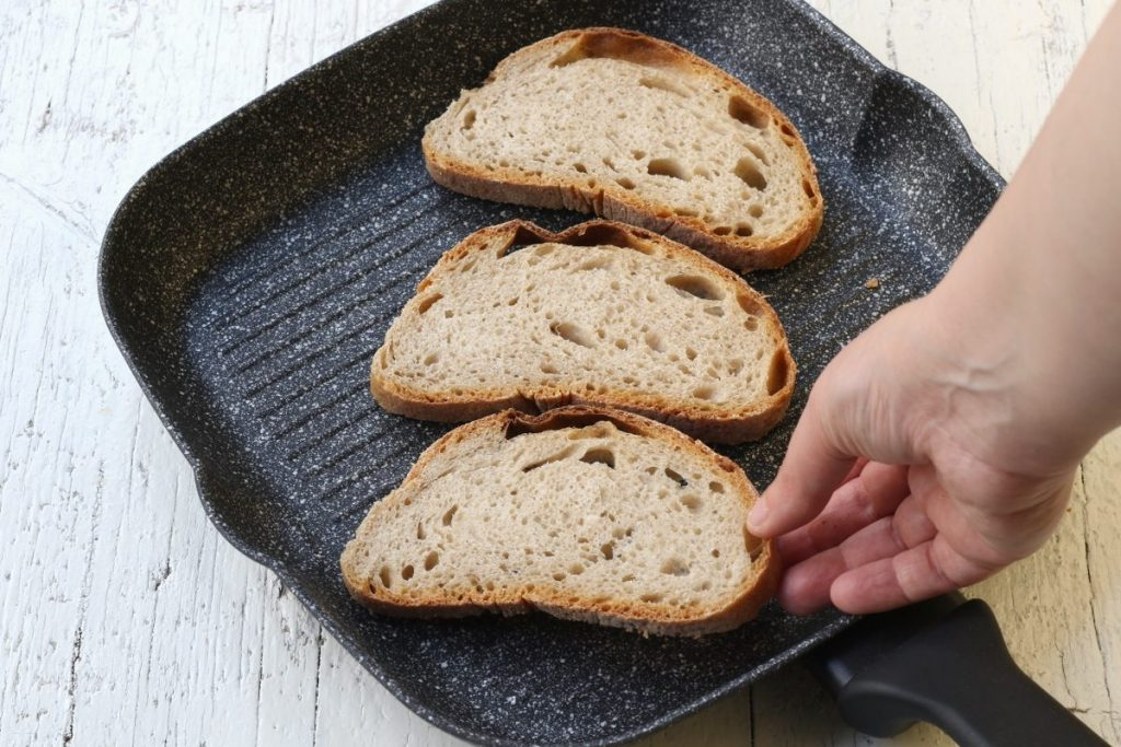 abbrustolire il pane