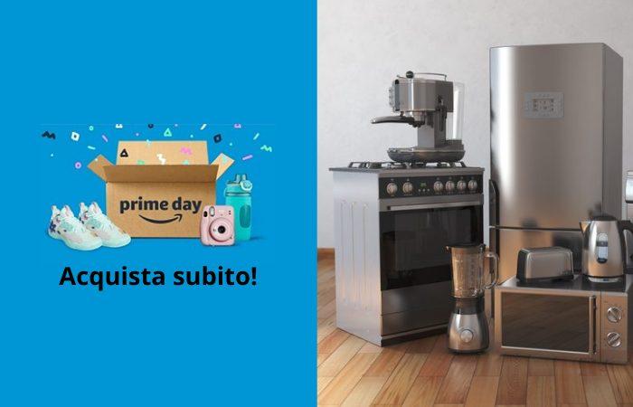 Offerte del Prime Day: fino al 55% di sconto sugli elettrodomestici da cucina