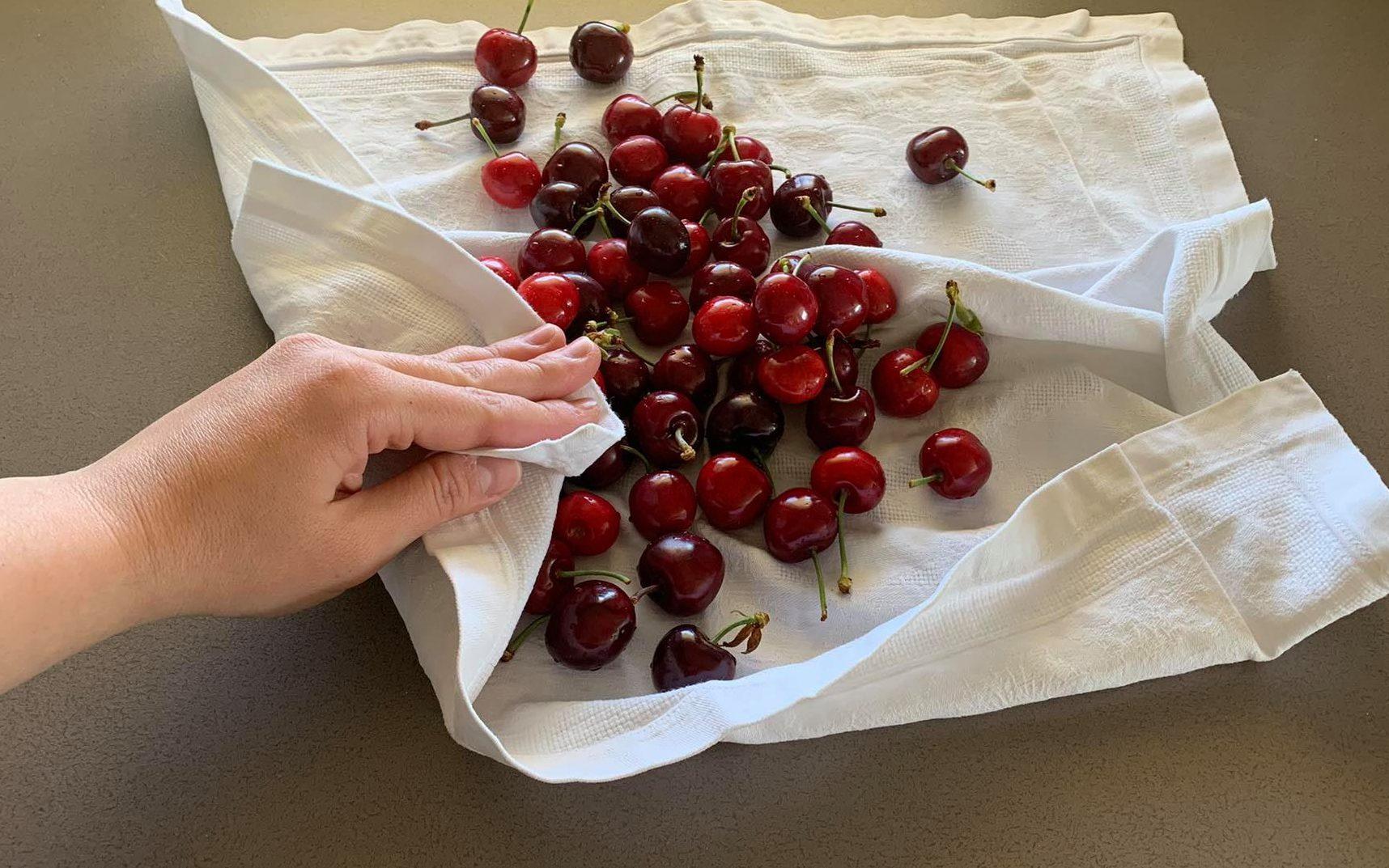 asciugare ciliegie