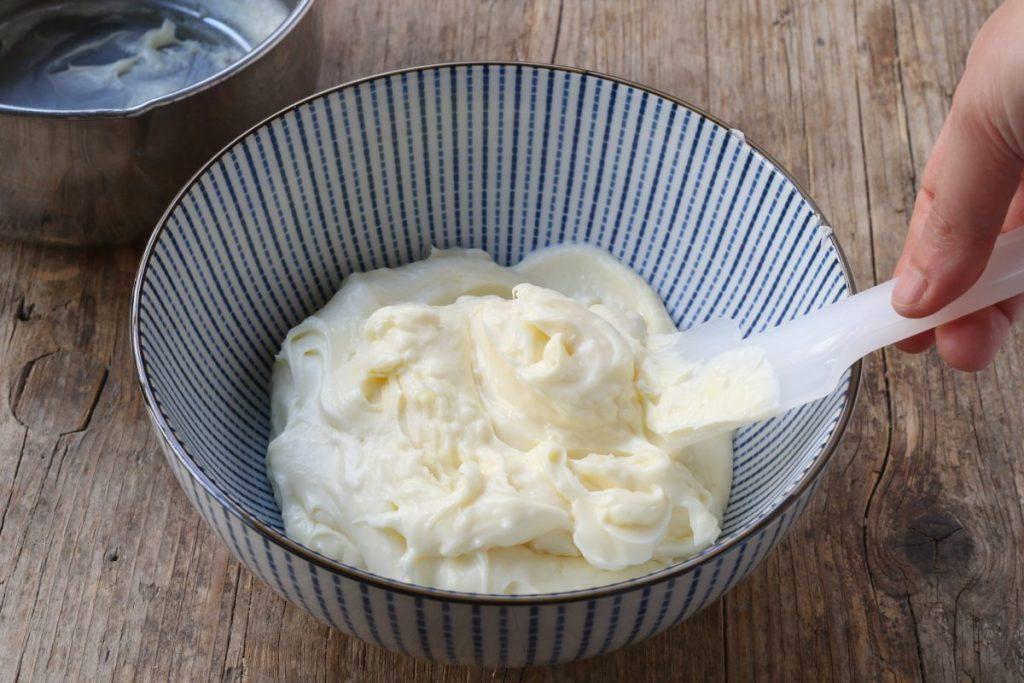 raffreddare la crema