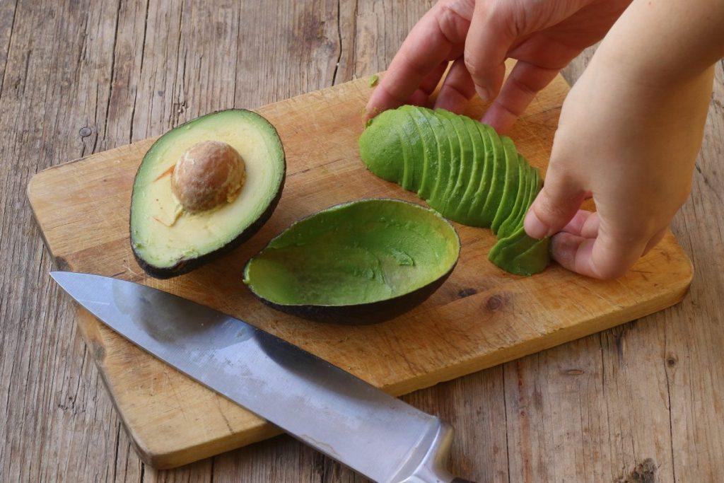affettare avocado