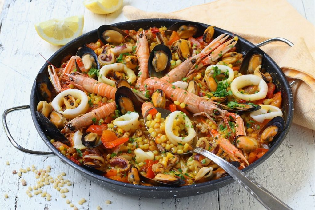 Paella sarda