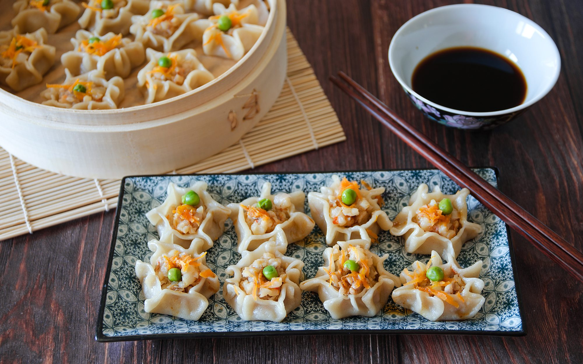 Xiao mai: la ricetta dei ravioli cinesi al vapore con gamberi