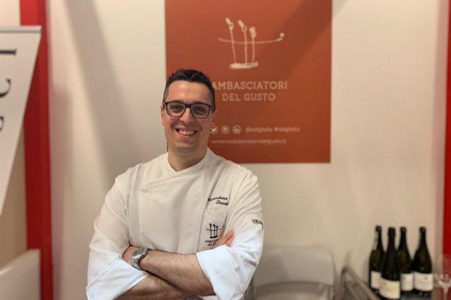 chef Gioacchino sensale arancina Palermo