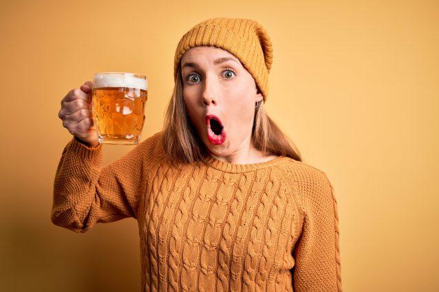 birra prodotta escrementi oca Finlandia