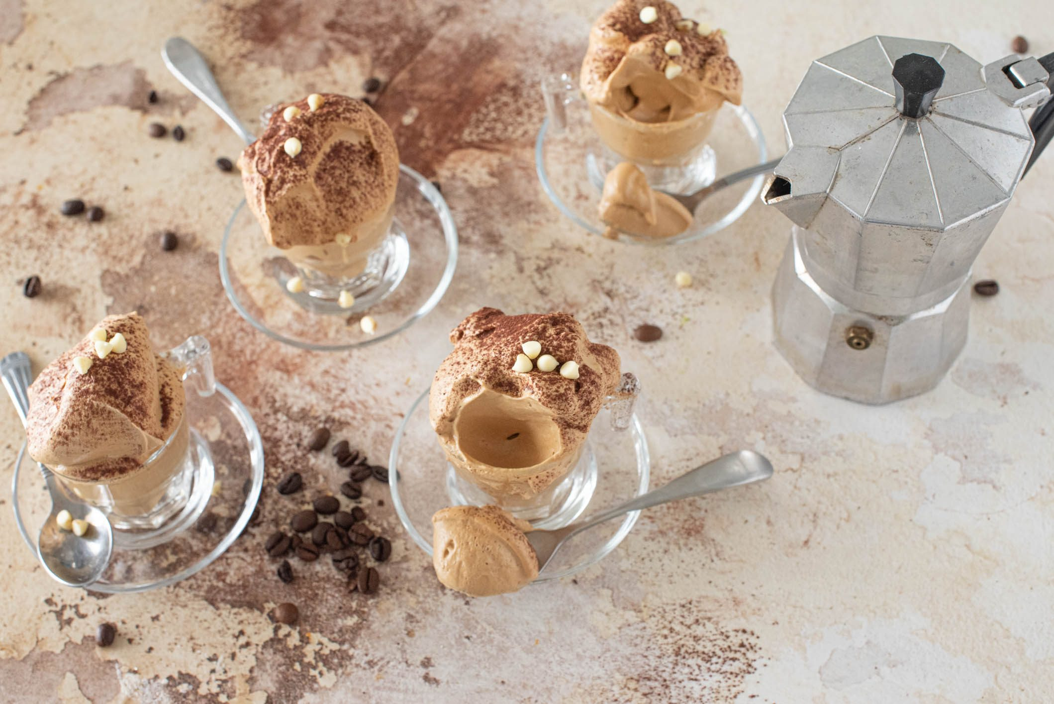 Crema di caffè light: la ricetta della mousse leggera e golosa