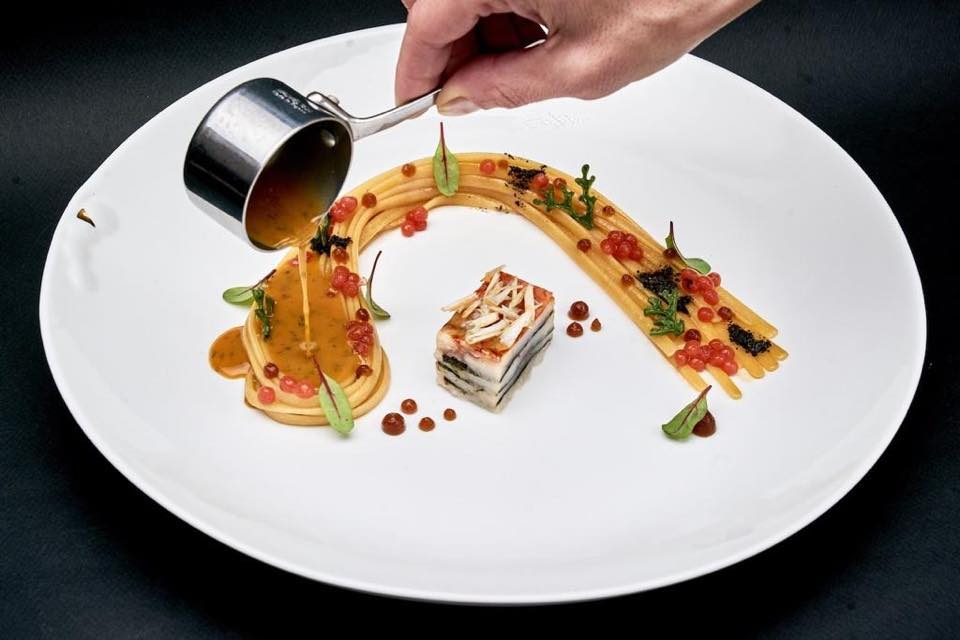 george-restaurant-candela-cucina-nippo-napoletana