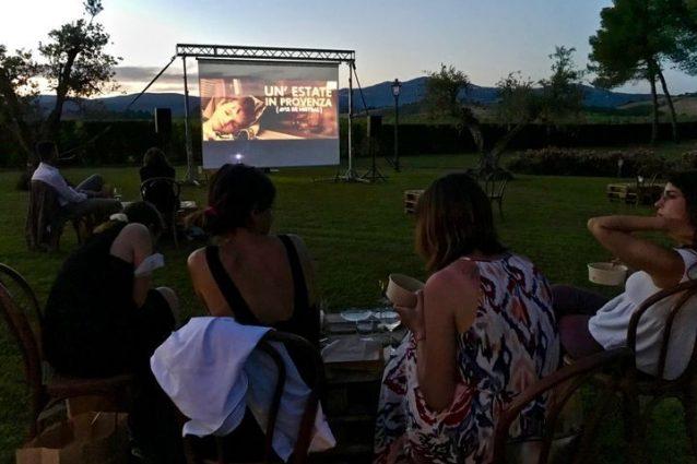 al cinema con gusto Toscana programma
