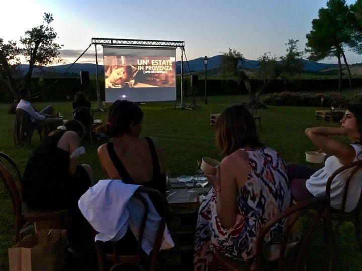 In Toscana cinema e cibo ripartono sotto le stelle