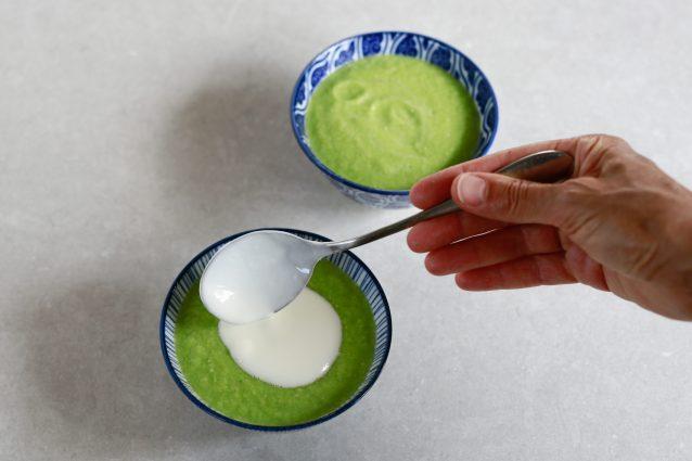 zuppa fredda di zucchine
