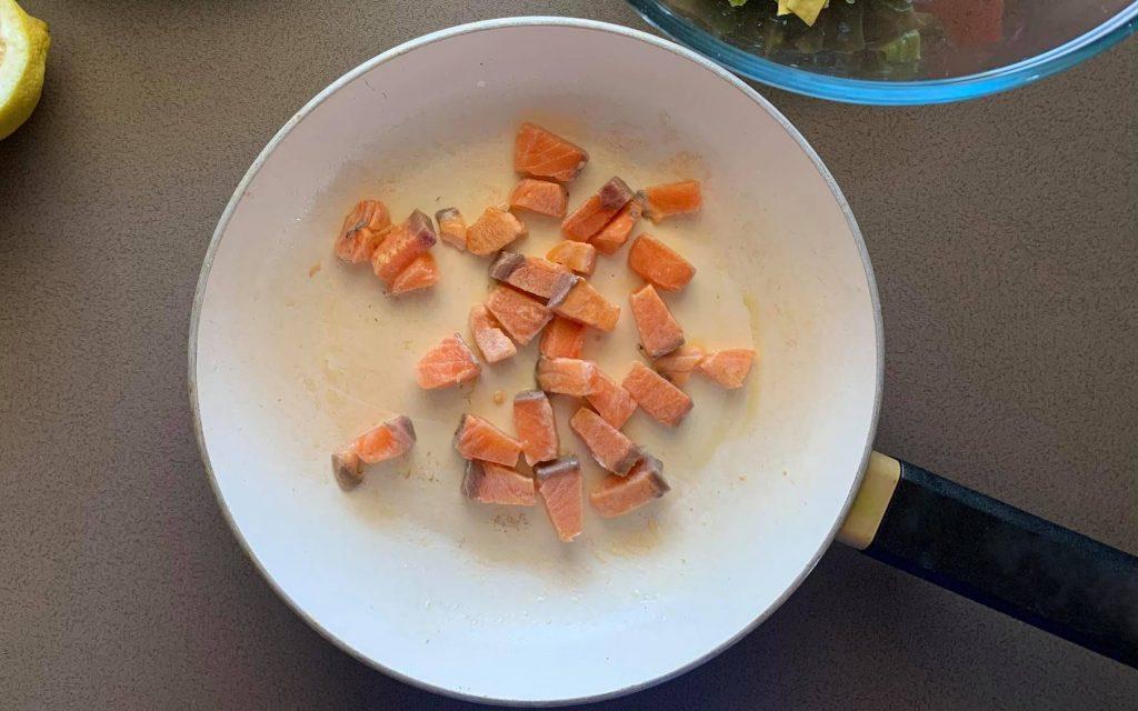 rosolare salmone