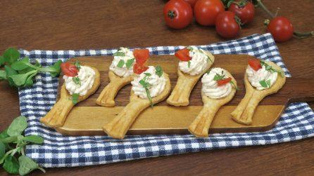 Cucchiaini di pasta sfoglia: la ricetta dei finger food semplici e sfiziosi