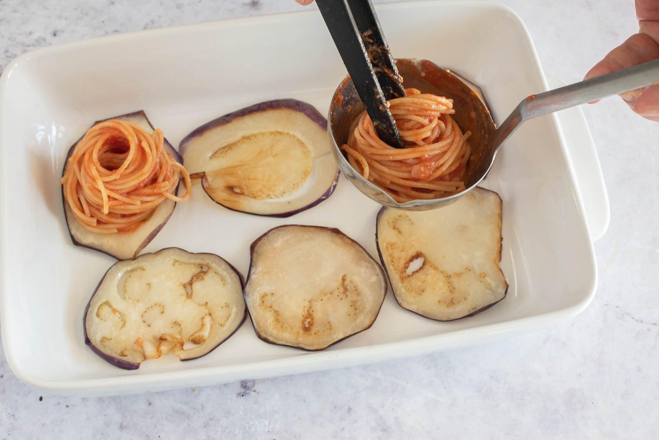 Doppiette di melanzane alla messinese