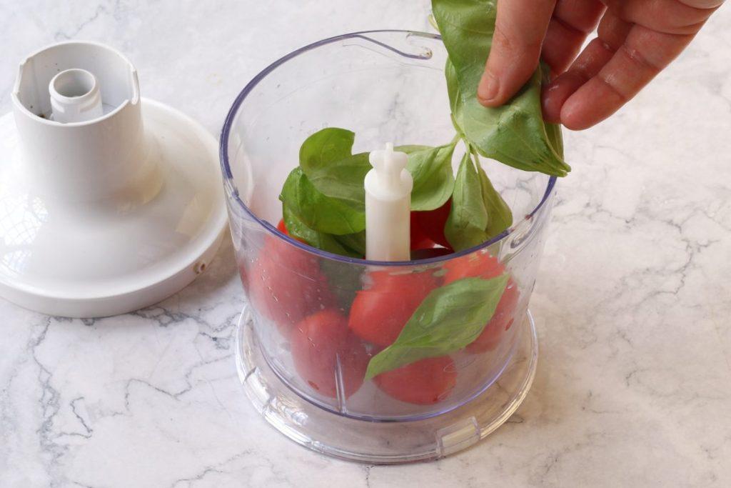 frullare pomodori