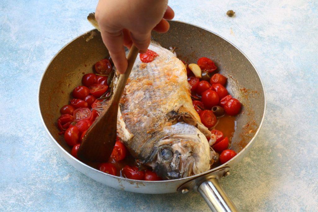 cuocere il sarago