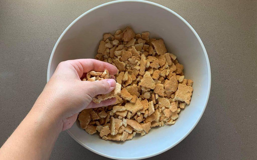 sbriciolare biscotti