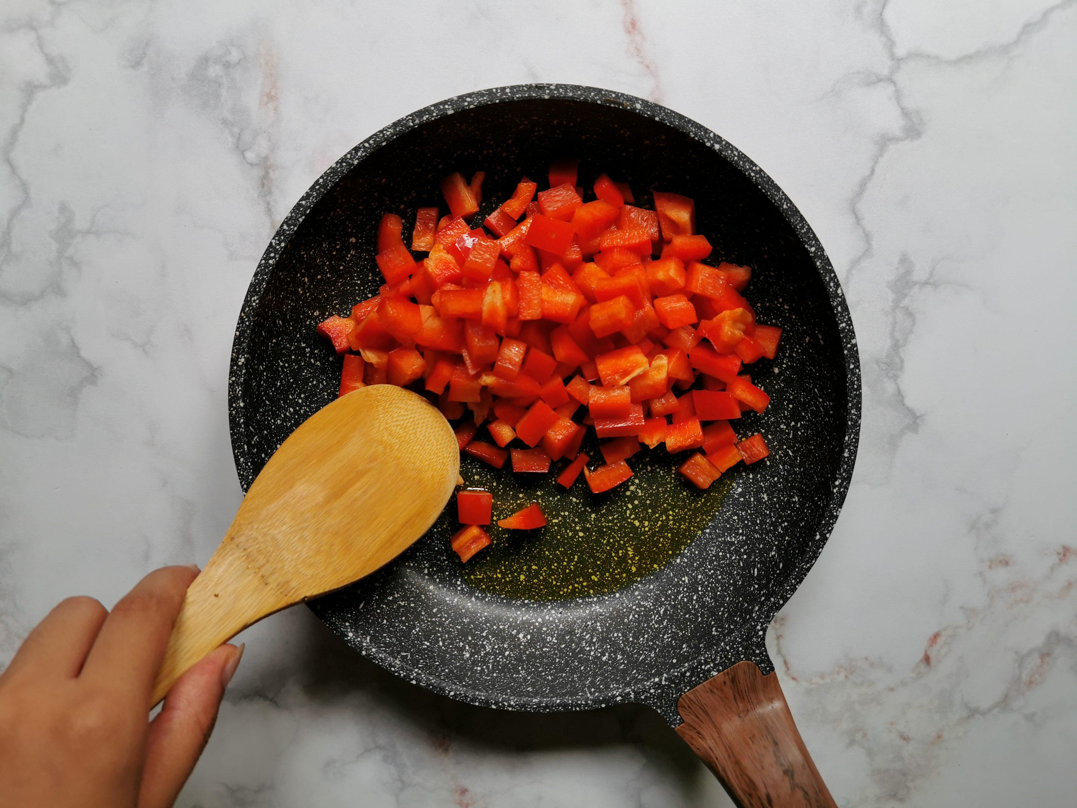 Frittelle ai peperoni