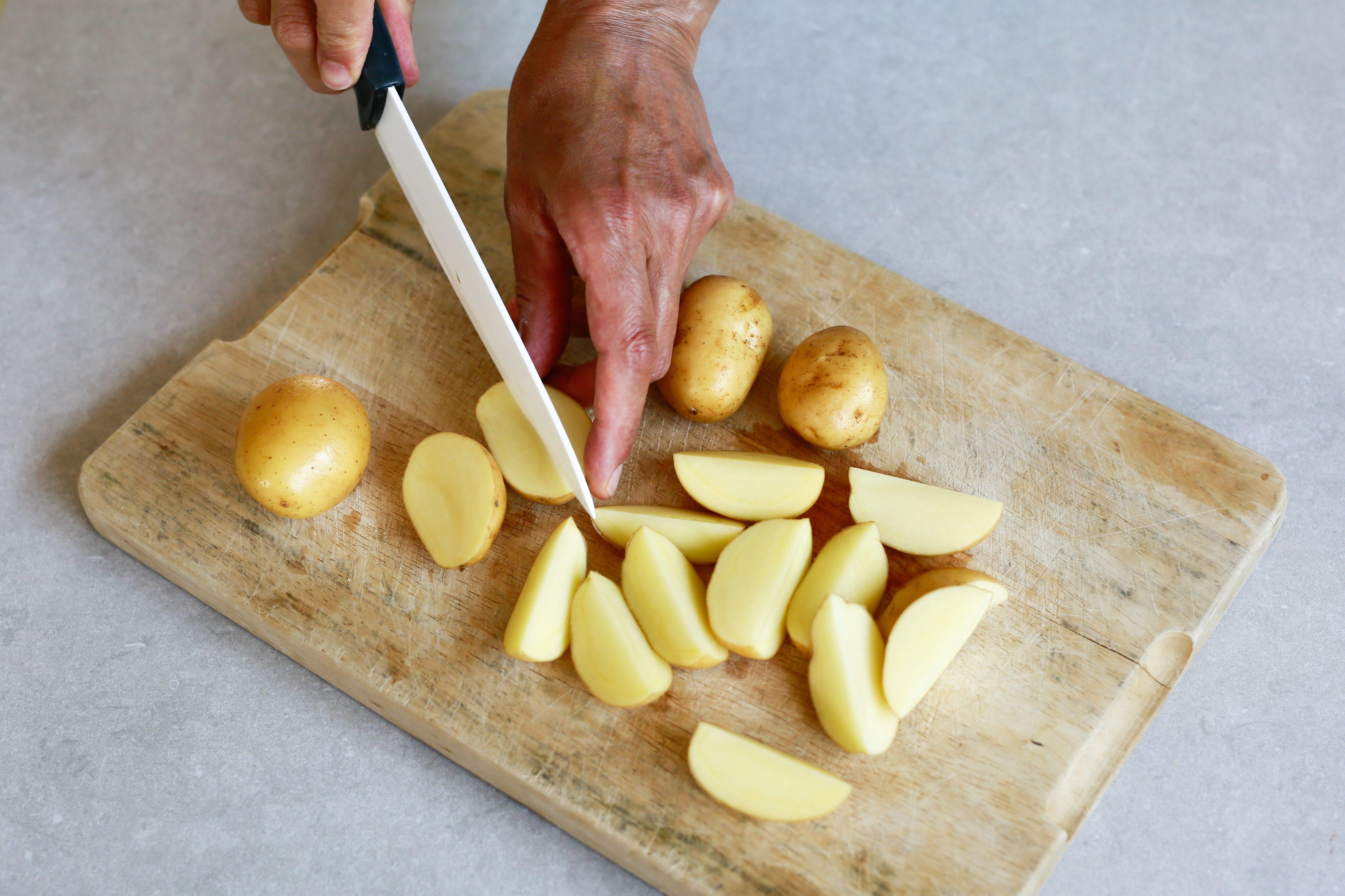 insalata di patate e zucchine