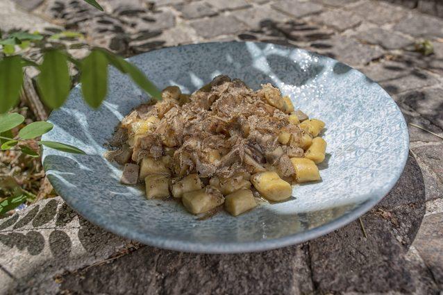 piatti tipici rieti Terminillo ricette gnocchi tartufo funghi